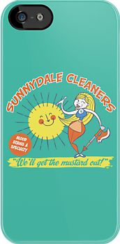 Sunnydale Cleaners by Tom Kurzanski