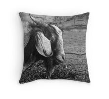 Billy Goat Gruff Throw Pillow