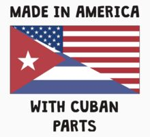 Made In American With Cuban Parts One Piece - Long Sleeve