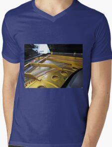 Inside Grand Piano Mens V-Neck T-Shirt