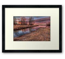 Color Marsh Framed Print