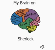 My brain on Sherlock by Cheeselock