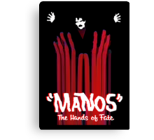 Manos The Hands of Fate Poster Canvas Print