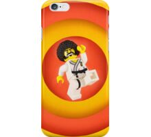 Afro Karate Guy iPhone Case/Skin