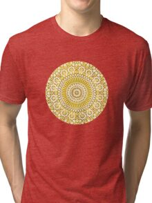 solar plexus Tri-blend T-Shirt