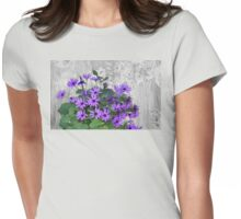 My Wedding Bouquet Womens Fitted T-Shirt