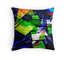 The First Hit Throw Pillow
