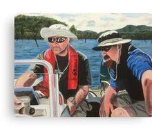 Dick & Thommo at Howqua Canvas Print
