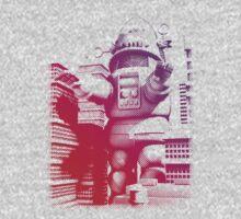 Rob-zilla Robot Attacks Kids Tee