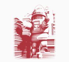 Rob-zilla Robot Attacks by Winxamitosis