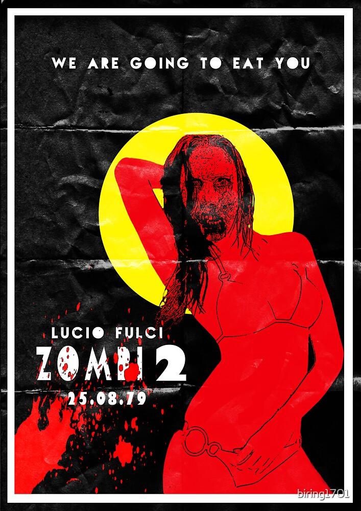 Zombie Flesh Eaters (Italian name Zombi 2)  by biring1701