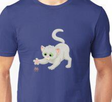 Nerdy Kitty Unisex T-Shirt