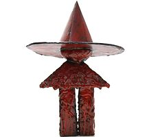 Little Red Witchling Figure by witchling