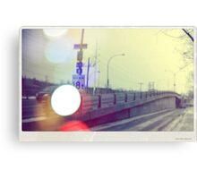 Autobahn Canvas Print