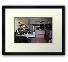 mt pleasant dry cleaners Framed Print