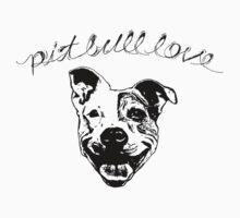 Pit Bull Love T Shirt or Hoodie by GoldSchool