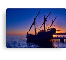 """Notorious Sunrise"" Canvas Print"