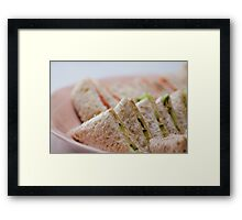 Sunday Lunch for Two Framed Print