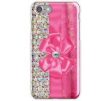 Iridesent Rhinestone & Fur Funky Iphone or Ipod Case iPhone Case/Skin