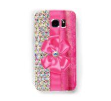 Iridesent Rhinestone & Fur Funky Iphone or Ipod Case Samsung Galaxy Case/Skin
