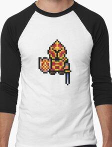 Pixel Warrior Men's Baseball ¾ T-Shirt
