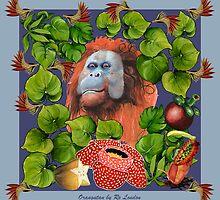 Orangutan by Ro London