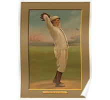 Benjamin K Edwards Collection Red Ames New York Giants baseball card portrait Poster