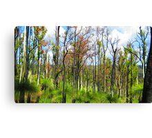 Grass Tree Canvas Print
