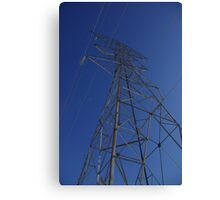 sky tower Canvas Print