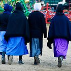 Four Amish Girls by KellyHeaton