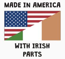 Made In American With Irish Parts One Piece - Short Sleeve