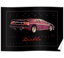 1995 Lamborghini Diablo ver 2 Poster