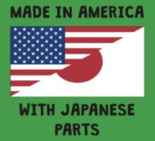 Made In American With Japanese Parts One Piece - Short Sleeve