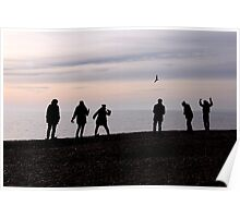 Skimming Stones Poster