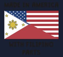 Made In American With Filipino Parts One Piece - Long Sleeve