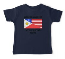 Made In American With Filipino Parts Baby Tee