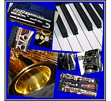 A Musical Miscellany Collage Photographic Print
