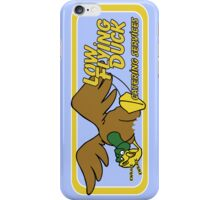 Low Flying Duck - skyblue iPhone Case/Skin