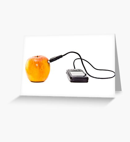 Apple networking Greeting Card