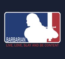 Barbarian League by posthuman2501