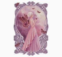 Pearl Birthstone Fairy Kids Tee