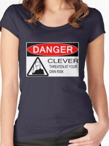 Dangerously Clever Women's Fitted Scoop T-Shirt