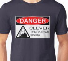 Dangerously Clever Unisex T-Shirt