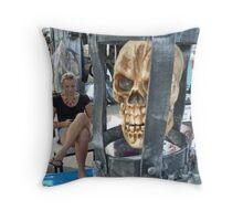 The Heretic  Throw Pillow