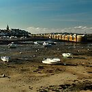 Roscoff in winter by jean-jean