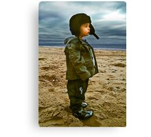 Lost in thought... Canvas Print