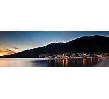 Queenstown Sunset Serenade Photographic Print