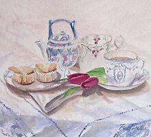 Vintage Tea by Patsy Smiles