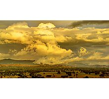 After the storm, Ovens Valley Photographic Print