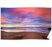 Turimetta Beach Sunrise  Poster